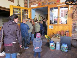 Der Röhlsche Hof - Bildungs- und Erlebnisbauernhof in Wallwitz in Sachsen-Anhalt - Brotbacktage 2013-11