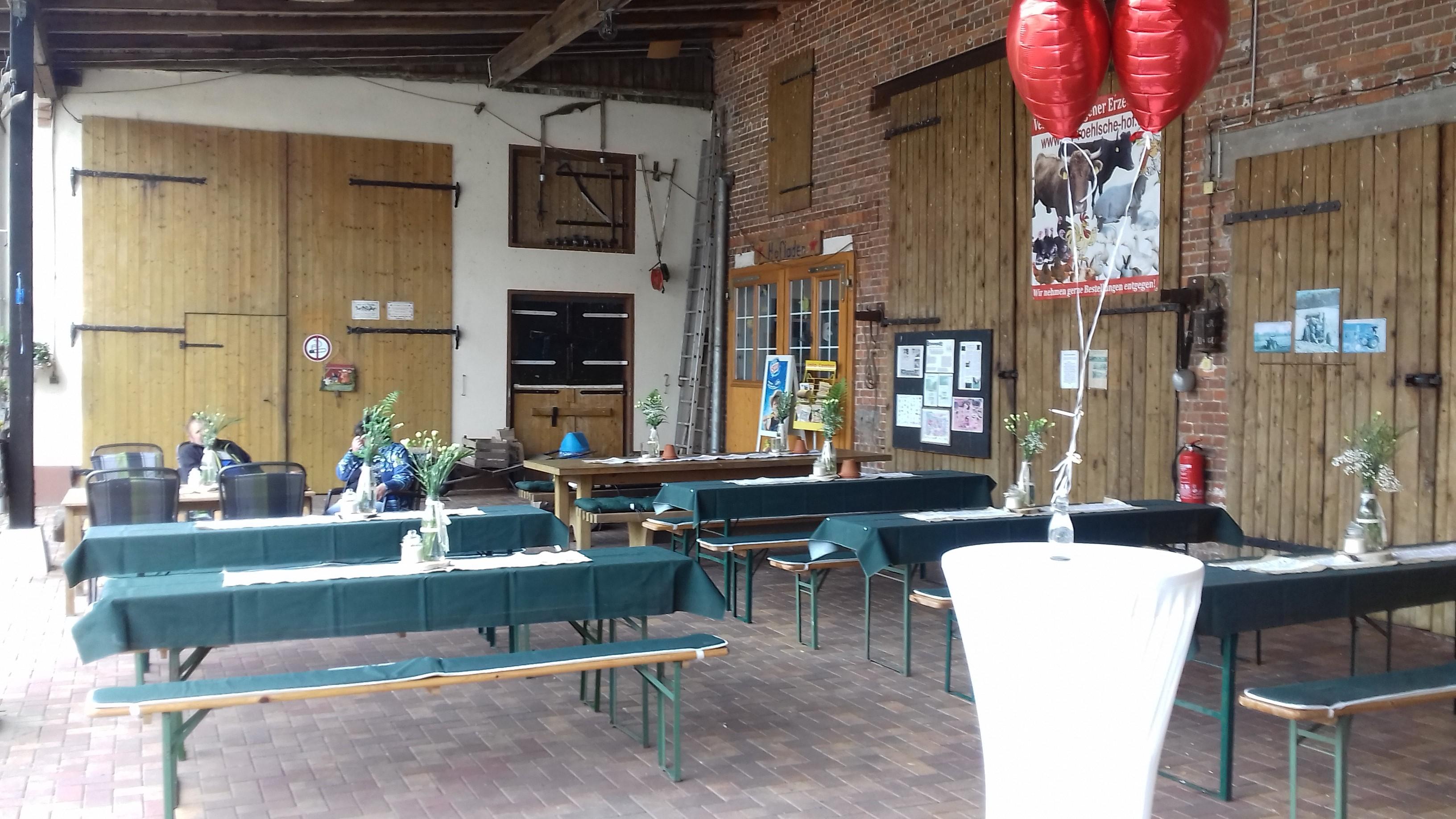 Der Röhlsche Hof - Bildungs- und Erlebnisbauernhof in Wallwitz in Sachsen-Anhalt