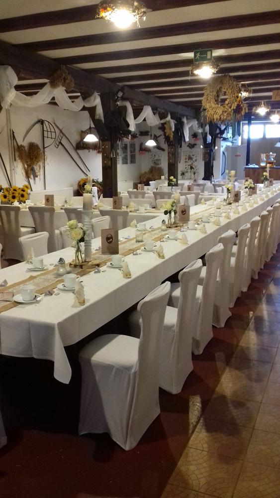 Der Röhlsche Hof - Bildungs- und Erlebnisbauernhof in Wallwitz in Sachsen-Anhalt - Hochzeit