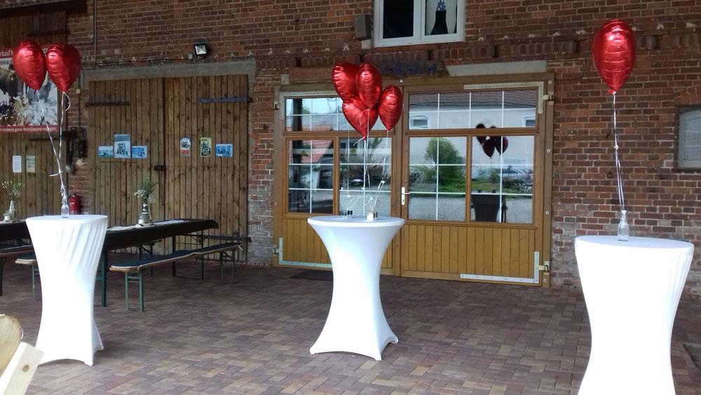 Der Röhlsche Hof - Bildungs- und Erlebnisbauernhof in Wallwitz in Sachsen-Anhalt - Hochzeit Deko-4