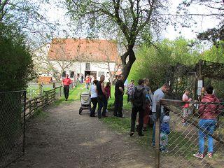 Der Röhlsche Hof - Bildungs- und Erlebnisbauernhof in Wallwitz in Sachsen-Anhalt - Spiel- und Spaßnachmittag 2013-13