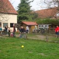 Der Röhlsche Hof - Bildungs- und Erlebnisbauernhof in Wallwitz in Sachsen-Anhalt - Spiel- und Spaßnachmittag 2013-4
