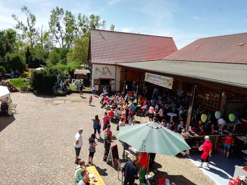 Der Röhlsche Hof - Bildungs- und Erlebnisbauernhof in Wallwitz in Sachsen-Anhalt - Spiel- und Spaßnachmittag 2019 2